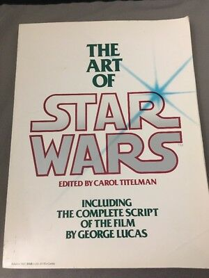 The Art of Star Wars by George Lucas and Carol Titelman HC (1979)