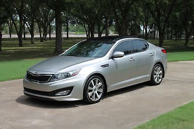Kia Optima SX TGDI w/Limited Pkg  Perfect Carfax Perfect Carfax Touring Pkg Tech Pkg Panoroof Heated and Cooled Leather Seats