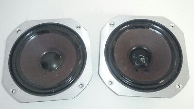 Two aluminum plate Jbl 2105H Midrange speaker drivers