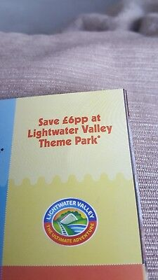 Lightwater Valley Voucher Save £6 Per Person Valid Til 04/11/2018