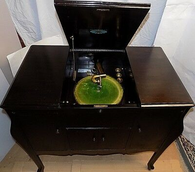 ANTIQUE- 1920s  KIMBERLEY PHONOGRAPH CO. EXETER MODEL 230 CRANK STYLE PHONOGRAPH