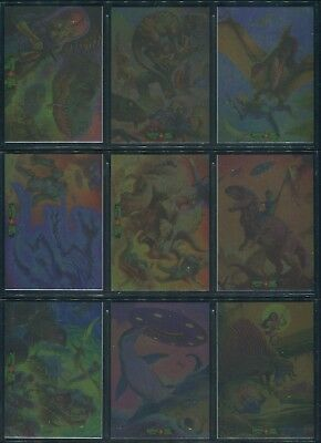 2016 Topps Mars Attack Dinosaurs Attack Occupation Attacky Packages Foil Set