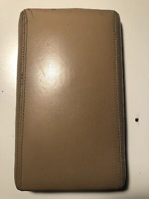 Nissan 300ZX OEM Leather Console Cover Lid Tan/Brown 2 Seater 1999-96 Z32