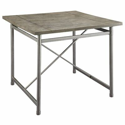 "ACME Kaelyn II 42"" Square Counter Height Dining Table in Gray Oak"