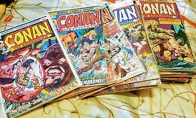 Big Conan Lot of Comic books 36- different issues