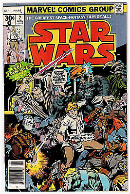 Marvel STAR WARS # 2; PUBLISHED in AUGUST 1977; VF / NM!! OVERSTREET $50.00