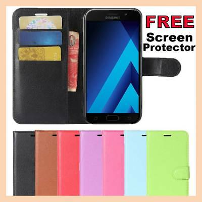 Leather Flip Case Wallet Gel Cover Stand For Samsung Galaxy J1 J2 J5 J7 Pro 2018