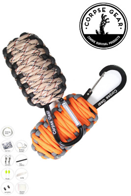 Paracord Bracelet 12-in-1 Survival Tactical Tool Camping Hiking Outdoor Kit Bulk