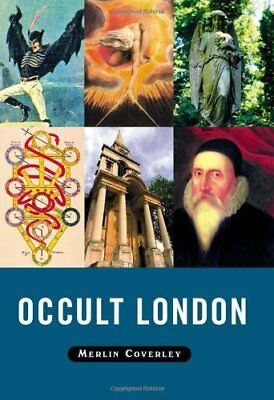 OCCULT LONDON by Merlin Coverley Hardback Book The Cheap Fast Free Post