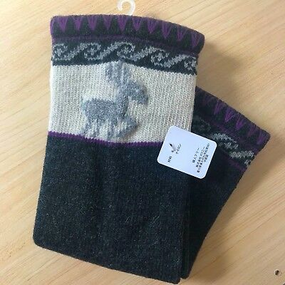 Wool Knitted Leg Warmers ***NEW WITH TAG***