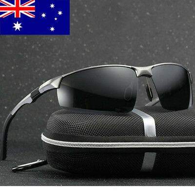 Polarized Mens Sunglasses Polarised New Style Square Frame Glasses Driving Sport