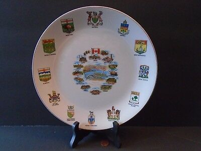 "Vtg! Canada Montreal Expo 67 Souvenir 10"" Collector Plate by British Anchor UK"
