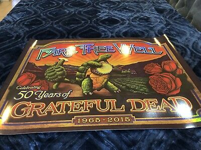 Grateful Dead Poster: Fare Thee Well