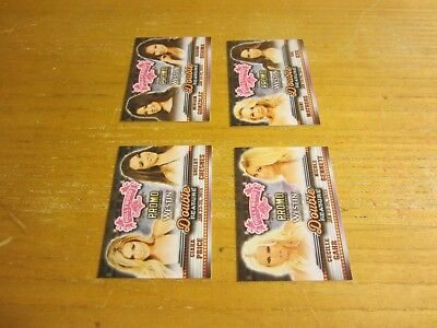 Shelby Chesnes/Ciara Price +3 Lot of 4 2015 Bench Warmer Hollywood Show Promos