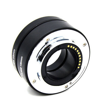 Automatic Macro Extension Ring Tube for Olympus Panasonic Four Thirds Micro M4/3