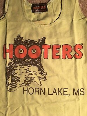 Authentic X-Small Shirt Hooters Mardi Gras Uniform.