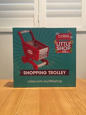 Coles Little Shop Shopping Trolley *BRAND NEW IN BOX*
