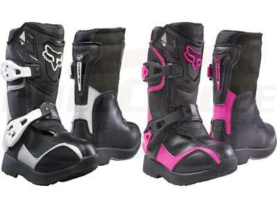 Fox Racing Youth Pee Wee Comp 5K Boots Motocross MX ATV Offroad Dirt Bike Kid's