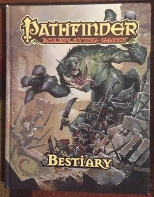 Pathfinder Bestiary Roleplaying Game Hardcover Roleplaying Book
