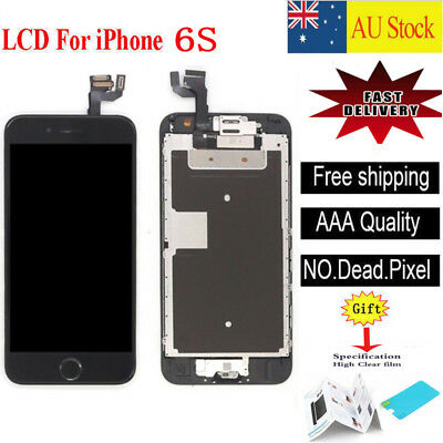 """For iPhone 6S 4.7"""" LCD Screen Touch Digitizer Full Assembly replacement black"""