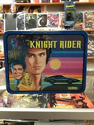 Knight Rider 1982 Lunch Box With Thermos