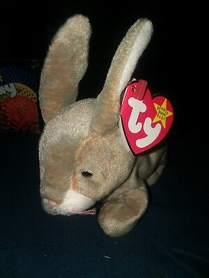 ty beanie baby  (nibbly) w/errors selling for 1000$elsewhere 1998