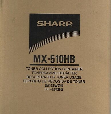 SHARP MX-510HB Toner Collection Container