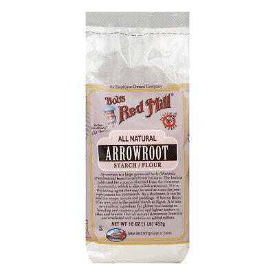 Bob's Red Mill Arrowroot Starch / Flour - 16 oz - Case of 4