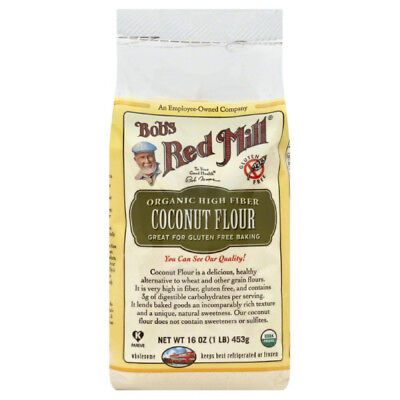 Bobs Red Mill Flour, Coconut, High Fiber