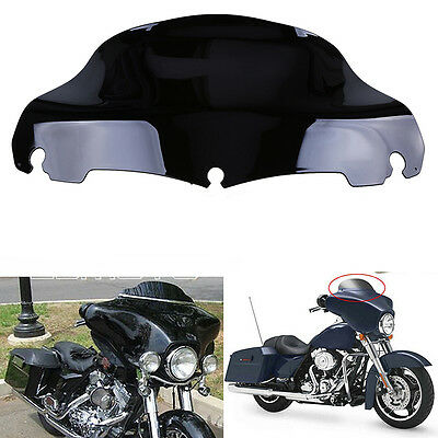 "9"" Windscreen Windshield for Harley Electra Street Glide 2014 2015 2016 Black"
