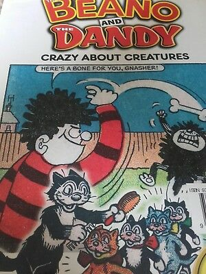 The Beano and Dandy - Crazy About Creatures (70 Years)