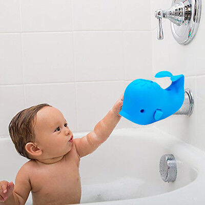 AU Baby Bath Tap Tub Safety Faucet Cover Protector Guard Edge Corner Cute Whale