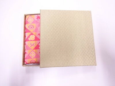 11737# Japanese Tea Ceremony / New! Fancy Box For Dashifukusa (Silk Cloth)/ Kinr