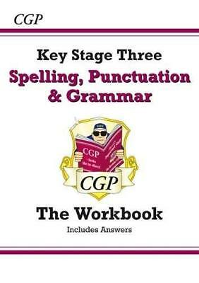 Spelling  Punctuation and Grammar for KS3 - Work by CGP Books New Paperback Book