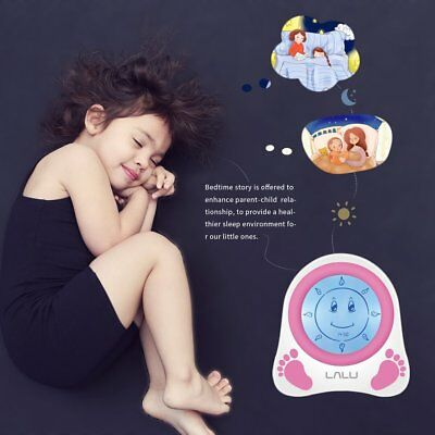 LALU Chidlren Sleep Trainer Simulation of Diurnal Change Graphic Clock Alarm BY