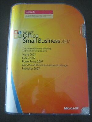 Microsoft Office Small Business 2007 Upgrade – full retail package & product key