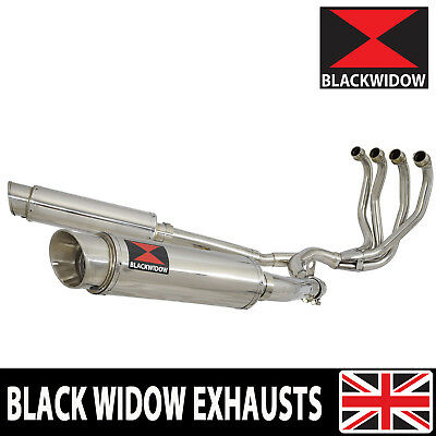 Zzr 1100 Zx-11 Zx11 4-2 Exhaust System Round Stainless Gp Style Silencers Sg36R