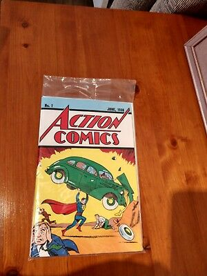 No. 1 ACTION COMICS June 1938 - DC Certified Reprint in original sealed plastic