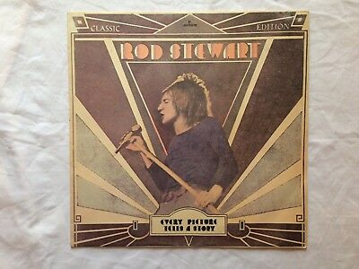 Rod Stewart Every Picture Tells A Story Vinyl Lp Mercury 6338063 Lovely Cond.