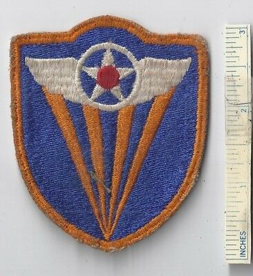 WW2 US Patch - 4th ARMY AIR FORCE USAAF- Shoulder USA Forces U.S. 4 WWII Plane