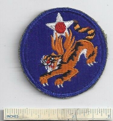 WW2 US Patch 14th ARMY AIR FORCE Flying Tigers USAAF Shoulder USA Military WWII