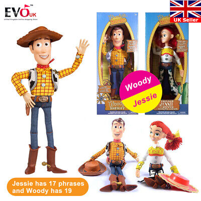 """Toy Story WOODY JESSIE Doll 15"""" Talking Action Figure Kids Toy Gift Set"""