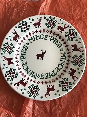 Emma Bridgewater Christmas Jumper 8.5 Plate For Collector's Club