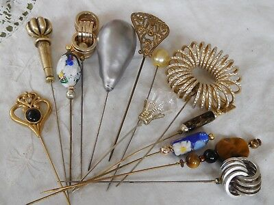 Lovely Mixed Job Lot of Vintage 1950s/60s HAT Pins