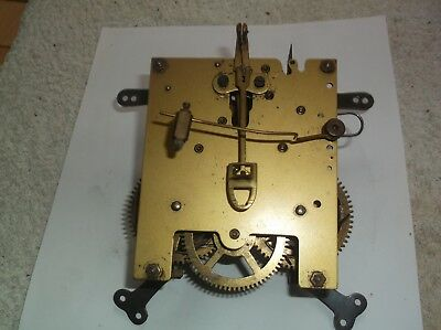 MECHANISM  FROM AN OLD  MANTLE CLOCK working order REF D5