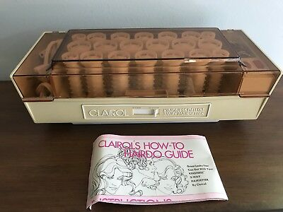 Clairol Kindness Deluxe 3 Way HairSetter Hot Rollers Curlers Clips Pageant K400