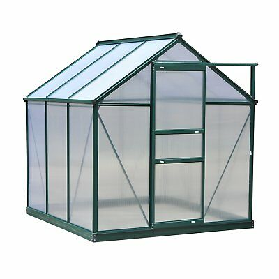Outsunny 6 Ft. W x 6 Ft. D Greenhouse
