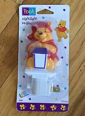 Winnie The Pooh Night Light New In Package