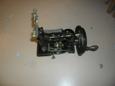 A good early Weir type Sewing Machine with box & key