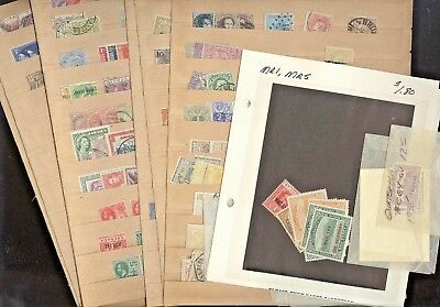 BRITISH COLONIES, BELGIUM, Excellent old time accumulation of stamps in